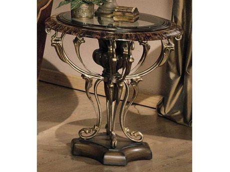 Benetti's Italia Furniture Ravenna 28'' Round End Table