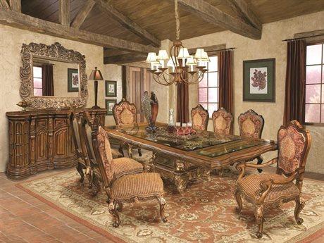Benetti's Italia Furniture Regalia Dining Room Set