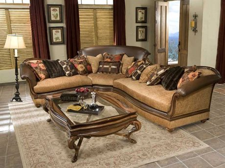 Benetti's Italia Furniture Salvatore Sectional Sofa Living Room Set BFSALVATORESECTIONALSET