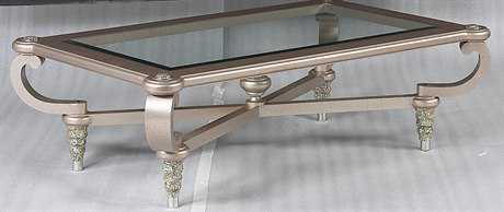 Benetti's Italia Furniture Sofia 64'' x 44'' Rectangular Cocktail Table BFSOFIACOCKTAILTABLE