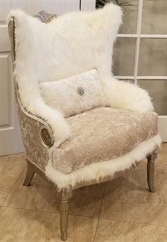Benetti's Italia Furniture Versailles Accent Chair
