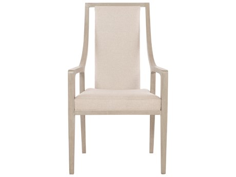 Bernhardt Axiom Linear Gray Arm Dining Chair BH381566