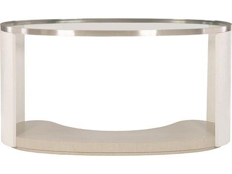 Bernhardt Axiom Linear Gray / White Brushed Silver Secretary Desk