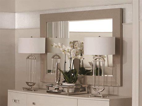 Bernhardt Axiom Linear Gray Wall Mirror BH381322