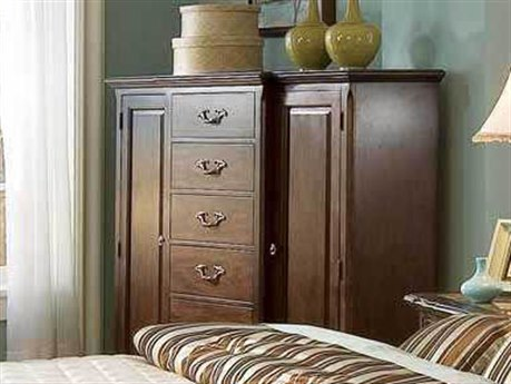 Bernhardt Belmont Dark Brown 5 Drawers Chest of
