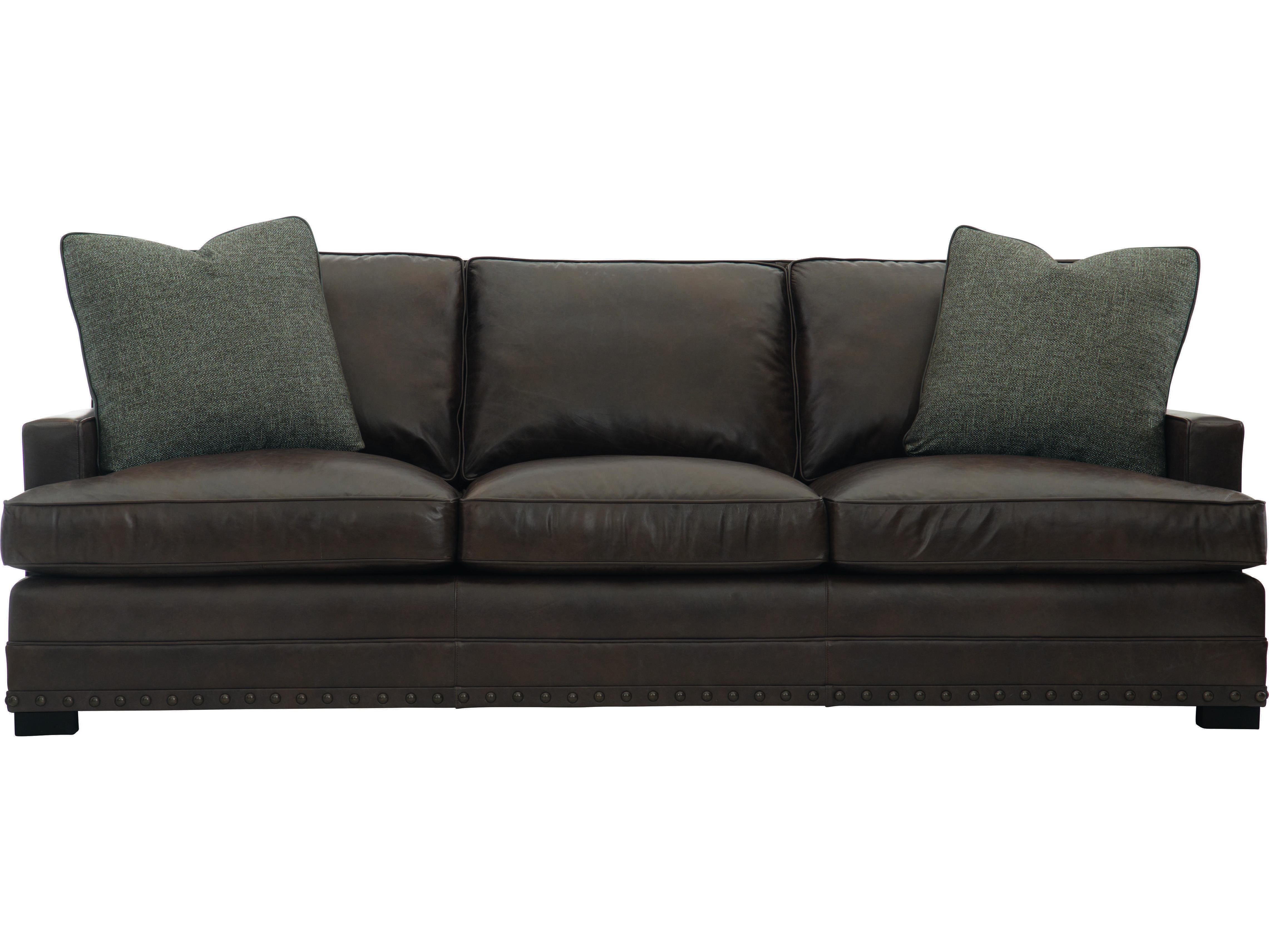 Bernhardt Cantor Mocha Sofa Couch | BH4067LTO