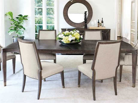 Bernhardt Clarendon Arabica 80'' Wide Rectangular Dining Table