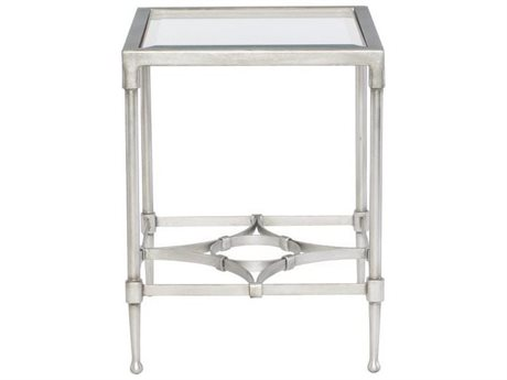 Bernhardt Cordelia Silver Leaf 20'' Wide Rectangular End Table BH572121