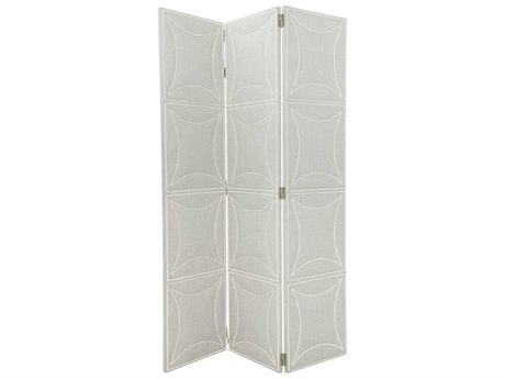 Bernhardt Criteria Heather Gray 3 Panel Room Divider BH363813