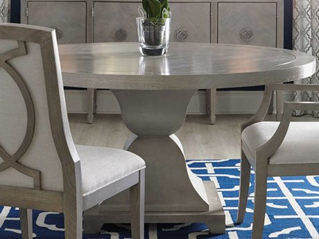 Bernhardt Criteria Heather Gray 60'' Wide Round Dining Table BH363271T