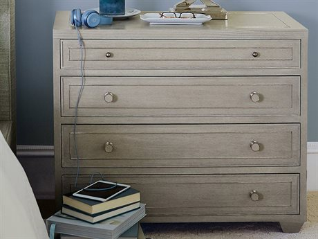 Bernhardt Criteria Heather Gray 4 Drawers or more Nightstand BH363230G