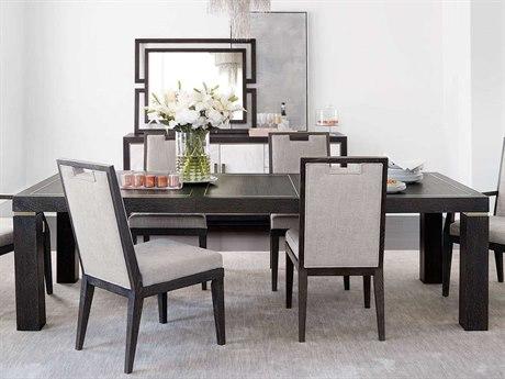 Bernhardt Decorage Cerused Mink / Silver Mist 80'' Wide Rectangular Dining Table BH380221