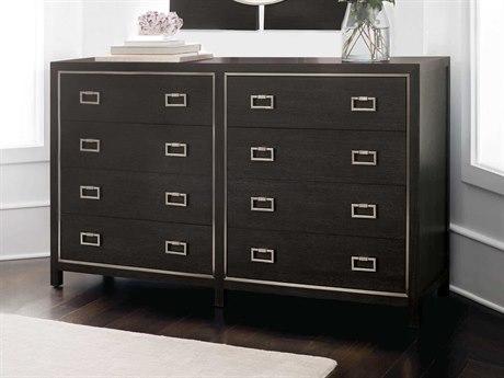 Bernhardt Decorage Cerused Mink / Silver Mist Eight-Drawers Double Dresser BH380054