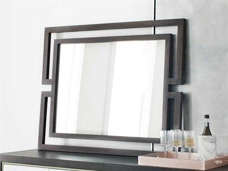 Bernhardt Decorage Cerused Mink 38''W x 48''H Rectangular Wall Mirror BH380331