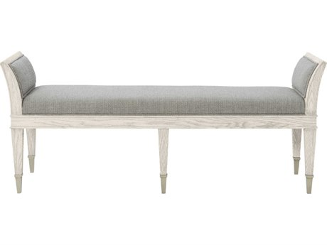 Bernhardt Domaine Blanc Dove White Accent Bench