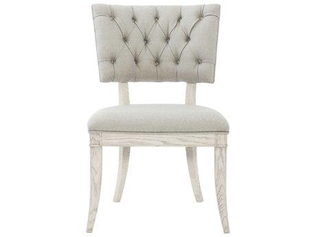 Bernhardt Domaine Blanc Dove White Side Dining Chair BH374541