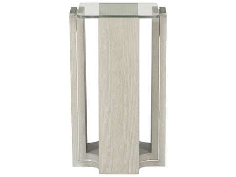 Bernhardt Freestanding Occasional Heather Gray 12'' Wide Square End Table