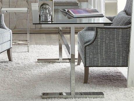 Bernhardt Freestanding Occasional Silver / Clear Secretary Desk BH447510T