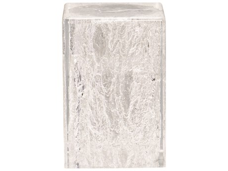 Bernhardt Interiors Clear 11'' Wide Square End Table BH375105