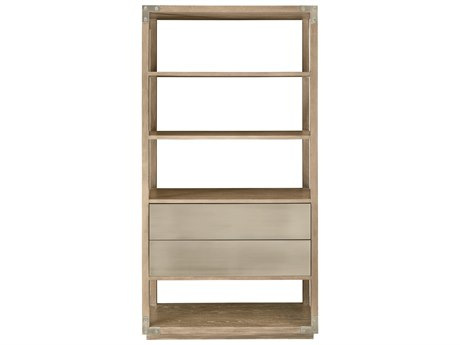 Bernhardt Interiors Rustic Sand / Tarnished Nickel Etagere BH372128
