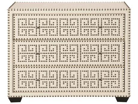 Bernhardt Interiors White / Antique Nickel 3 Drawers or less Dresser BH379113