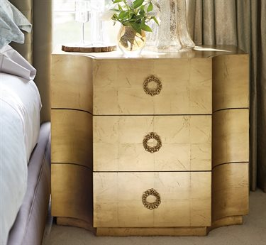 Bernhardt Jet Set 3 Drawers Nightstand BH356115G