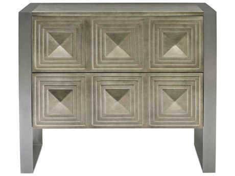 Bernhardt Mosaic Warm Graphite 2 Drawers Nightstand BH373232