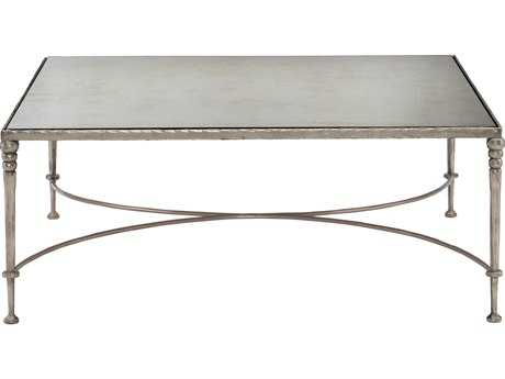 Bernhardt Orleans Silver Leaf Square Coffee Table BH412011