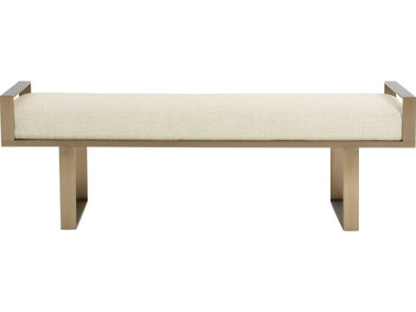 Bernhardt Profile Tapestry Gold Accent Bench BH378508