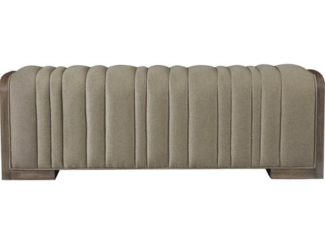 Bernhardt Profile Warm Taupe Accent Bench