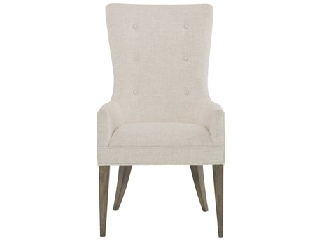 Bernhardt Profile Warm Taupe Arm Dining Chair BH378548