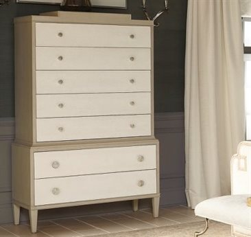 Bernhardt Savoy Place Chanterelle / Ivory Chest of Drawers 7 BH371119A