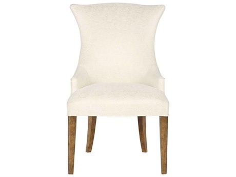 Bernhardt Soho Luxe Dark Caramel Arm Dining Chair BH368546