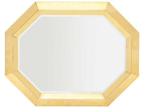 Bernhardt Soho Luxe Polished Brass Wall Mirror BH368322