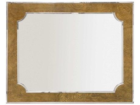 Bernhardt Soho Luxe Dark Caramel / Silver Wall Mirror BH368331