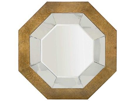 Bernhardt Soho Luxe Dark Caramel Wall Mirror BH368334