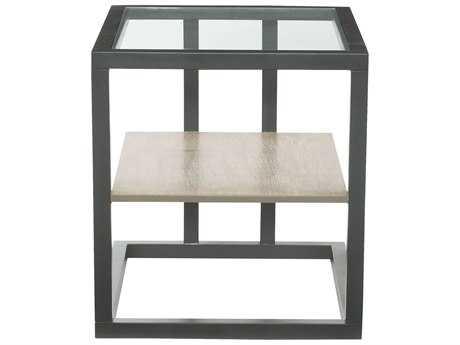 Bernhardt Wheeler 24''L x 28'' Wide Rectangular End Table