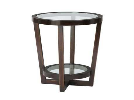 Bernhardt Zola Molasses Round End Table BH507123