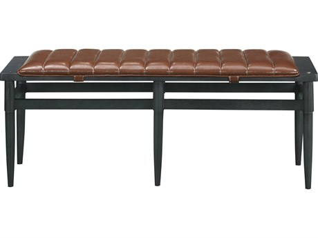Bobby Berk for A.R.T Furniture Dark Gray Accent Bench