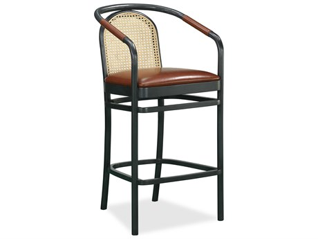 Bobby Berk for A.R.T Furniture Dark Gray Arm Bar Height Stool