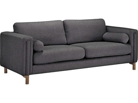 Bobby Berk for A.R.T Furniture Walnut / Truffle Sofa Couch