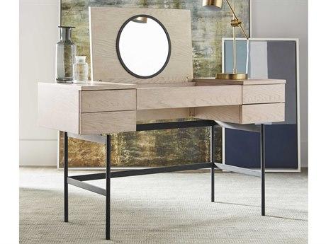 Bobby Berk for A.R.T Furniture White Anja Vanity Desk