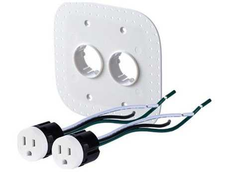 Bocci 22-Series Drywall Two-Plug 15A Tamper Resistant Outlet Assembly