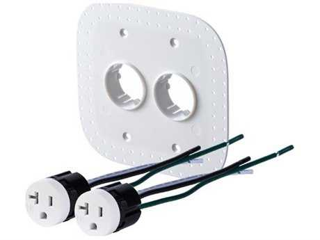 Bocci 22-Series Drywall Two-Plug 20A Tamper Resistant Outlet Assembly