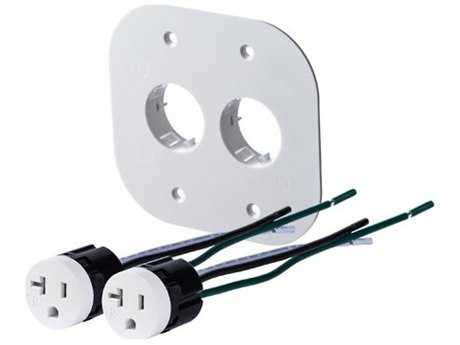 Bocci 22-Series Alternate Two-Plug 20A Tamper Resistant Outlet Assembly