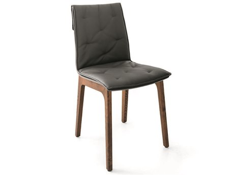 Bontempi Alfa Anthracite Side Dining Chair BON4055L006L087TR517