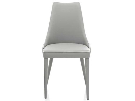 Bontempi Clara Light Gray Side Dining Chair BON4011TR516