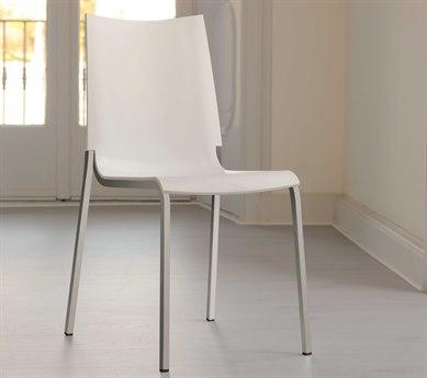 Bontempi Eva White Side Dining Chair BON04.22M089Z031