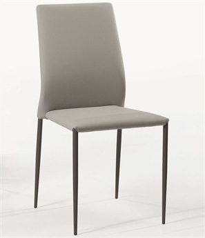 Bontempi Kendra Light Gray Side Dining Chair BON4464M310TR516