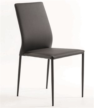 Bontempi Kendra Light Gray Side Dining Chair BON4464M310TR517
